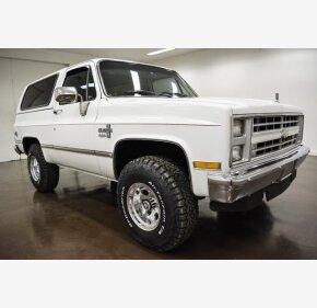 1986 Chevrolet Blazer 4WD for sale 101061350