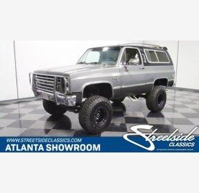 1986 Chevrolet Blazer 4WD for sale 101095516