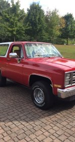 1986 Chevrolet Blazer 4WD for sale 101213407