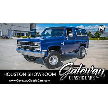 1986 Chevrolet Blazer 4WD for sale 101239288