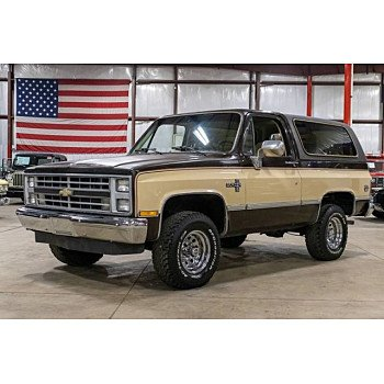 1986 Chevrolet Blazer 4WD for sale 101295383
