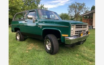 1986 Chevrolet Blazer 4WD for sale 101385647