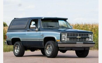 1986 Chevrolet Blazer 4WD 2-Door for sale 101460315