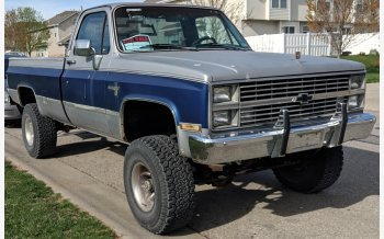 1986 Chevrolet C/K Truck 4x4 Regular Cab 1500 for sale 101126814