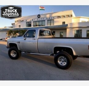 1986 Chevrolet C/K Truck 4x4 Regular Cab 2500 for sale 101274368