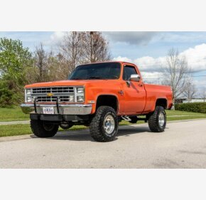 1986 Chevrolet C/K Truck 4x4 Regular Cab 1500 for sale 101286960