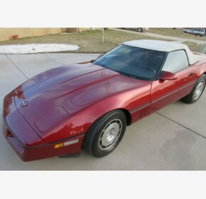 1986 Chevrolet Corvette Convertible for sale 100987718