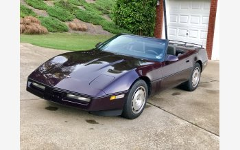 1986 Chevrolet Corvette Convertible for sale 101190336