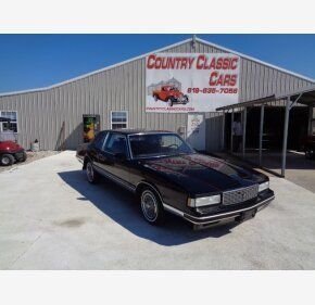 1986 Chevrolet Monte Carlo for sale 101180086