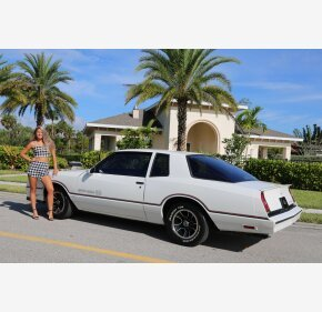 1986 Chevrolet Monte Carlo SS for sale 101219292