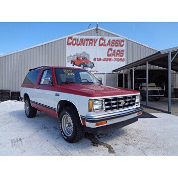 1986 Chevrolet S10 Blazer 2WD for sale 101354233