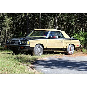 1986 Chrysler LeBaron for sale 101085385