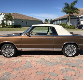 1986 Chrysler LeBaron Convertible for sale 101320331