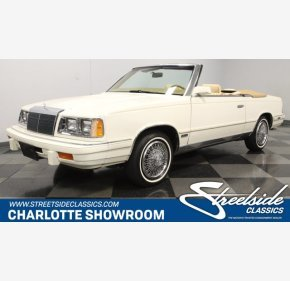 1986 Chrysler LeBaron for sale 101428211