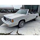 1986 Chrysler LeBaron Convertible for sale 101578199