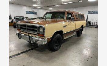 1986 Dodge D/W Truck for sale 101461929