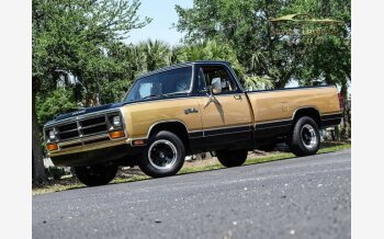1986 Dodge D/W Truck for sale 101490092