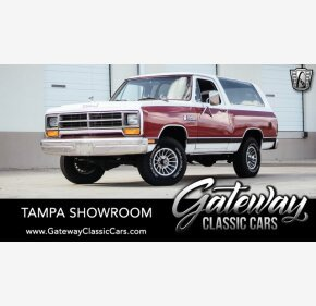 1986 Dodge Ramcharger 4WD for sale 101289469