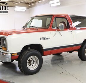 1986 Dodge Ramcharger 4WD for sale 101476578