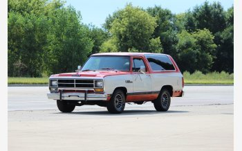 1986 Dodge Ramcharger 2WD for sale 101204012