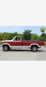 1986 Ford F150 4x4 Regular Cab for sale 101217789
