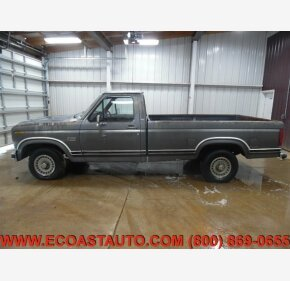 1986 Ford F150 2WD Regular Cab for sale 101277554