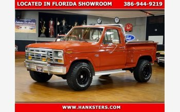 1986 Ford F150 4x4 Regular Cab for sale 101397181
