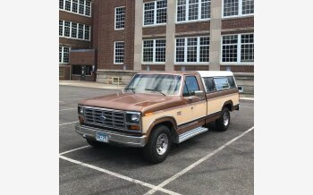 1986 Ford F150 2WD Regular Cab for sale 101618117