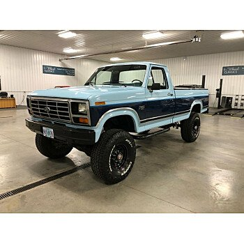 1986 Ford F250 4x4 Regular Cab for sale 101084718