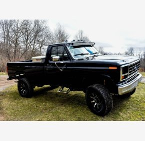 1986 Ford F250 4x4 Regular Cab for sale 101330796