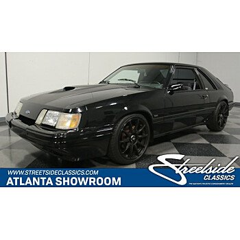 1986 Ford Mustang SVO Hatchback for sale 100970172