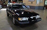 1986 Ford Mustang SVO Hatchback for sale 101060882