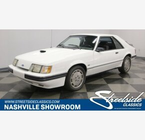 1986 Ford Mustang SVO Hatchback for sale 101061618