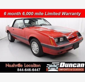 1986 Ford Mustang for sale 101148031
