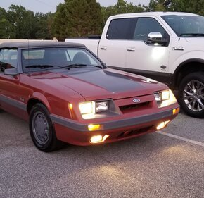 1986 Ford Mustang Convertible for sale 101162202