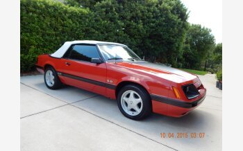 1986 Ford Mustang Convertible for sale 101215524