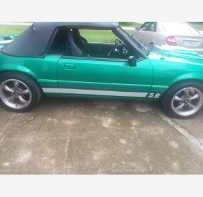 1986 Ford Mustang LX V8 Convertible for sale 101237956