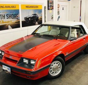 1986 Ford Mustang Convertible for sale 101307335