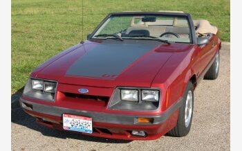 1986 Ford Mustang GT Convertible for sale 101391466