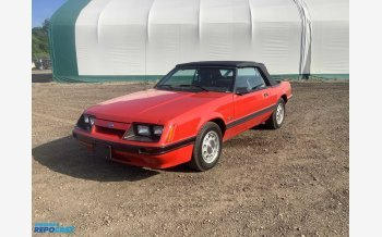 1986 Ford Mustang Convertible for sale 101533302