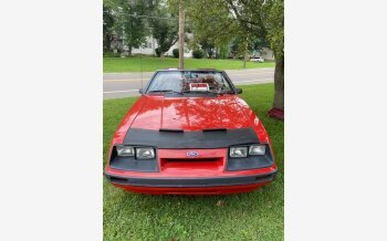 1986 Ford Mustang LX Convertible for sale 101608510