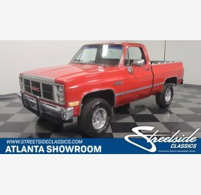 1986 GMC Sierra 1500 4x4 Regular Cab for sale 100989857
