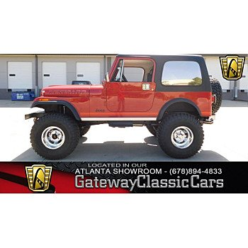 1986 Jeep CJ 7 for sale 100997885