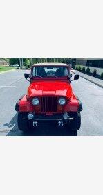 1986 Jeep CJ 7 for sale 101127321