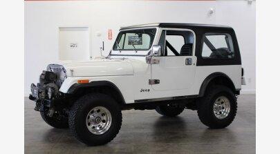 1986 Jeep CJ 7 for sale 101300772
