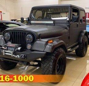 1986 Jeep CJ for sale 101344333