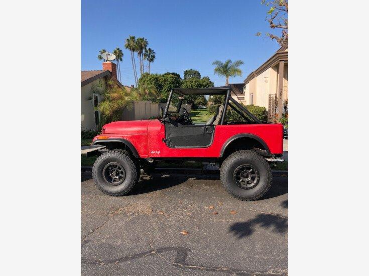 1986 Jeep CJ 7 for sale 101370053