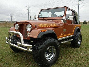 1986 Jeep CJ 7 for sale 101400177