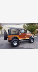 1986 Jeep CJ for sale 101401255