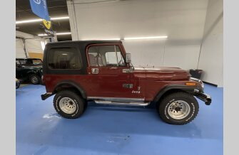 1986 Jeep CJ 7 for sale 101441622